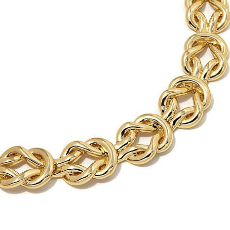 "Roberto by RFM ""Equestrian"" Loop 17-3/4"" Link Necklace"