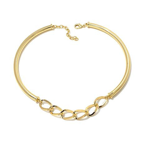 "Roberto by RFM ""Oro Chic"" Tube Collar 16"" Necklace"