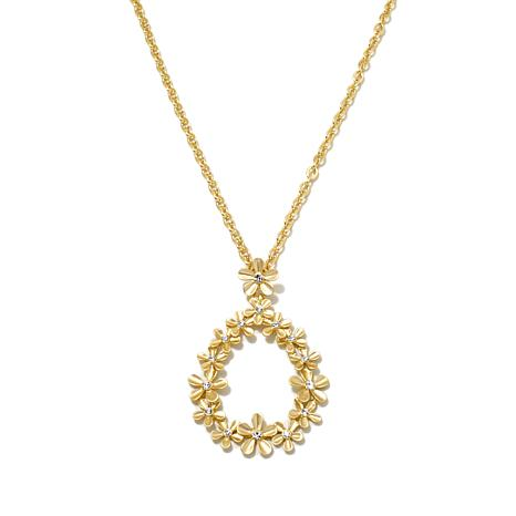 "Roberto by RFM ""Natura"" Polished Pendant with 21"" Chain"