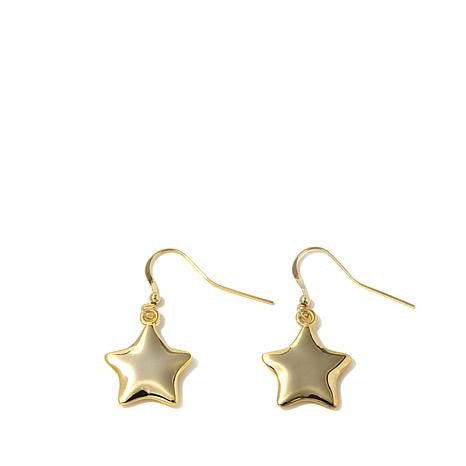 "Roberto by RFM ""Natura"" Polished Drop Earrings"