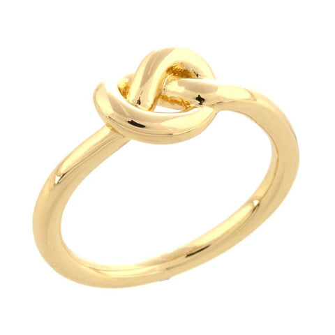 "Roberto by RFM ""Nodus d'Amore"" Polished Knot Ring"