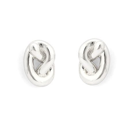 """Nodo D'Amore"" Stud Earrings"