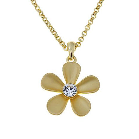 "Roberto by RFM ""Giardino"" necklace with central flower element"