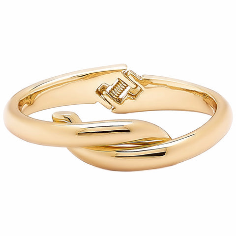 "Roberto by RFM ""Abbraccio"" Twist-Design Hinged Bangle Bracelet"