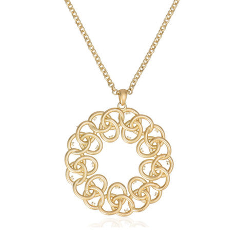 Roberto by RFM Necklace with round pendant