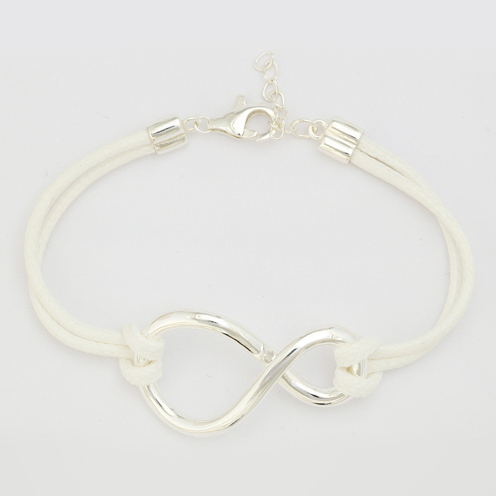 "Roberto by RFM ""L'Infinito"" Sterling Silver Bracelet"