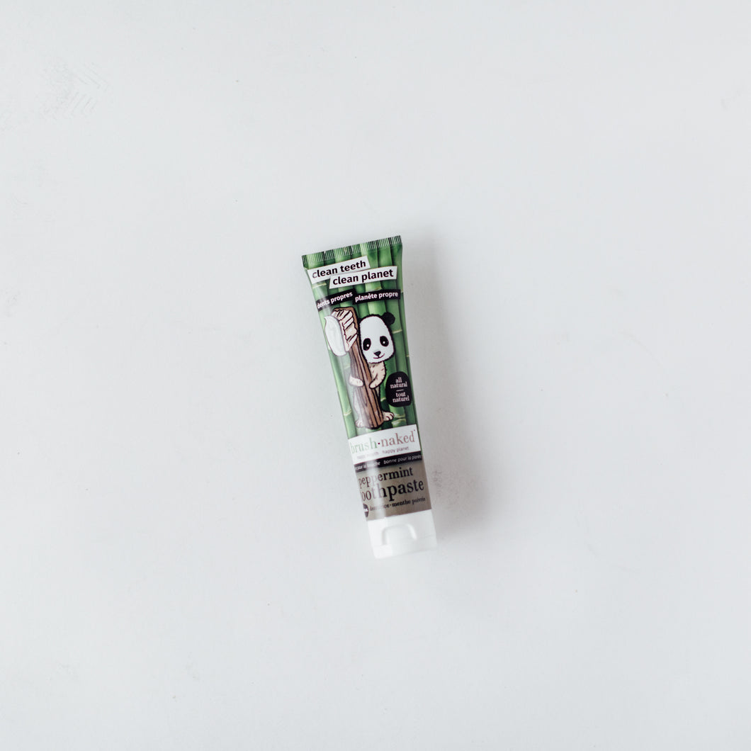 All-Natural Peppermint Toothpaste, 100mL - WHOLESALE