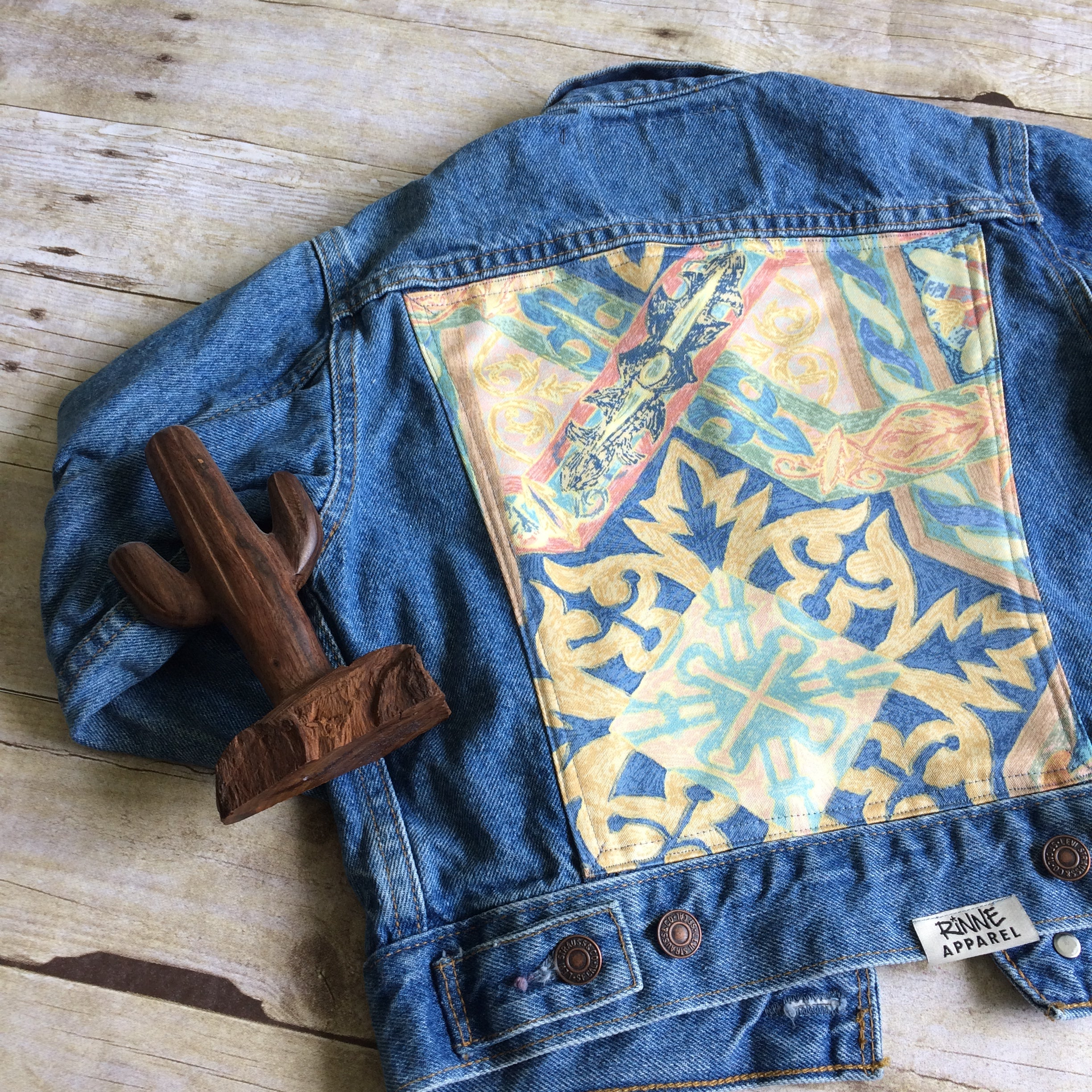 Kid's Levi Small Upcycled Denim Jacket