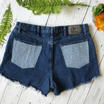 Wrangler floral pocket denim cut-offs size 36