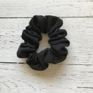 Black Sparkle Knit Scrunchie