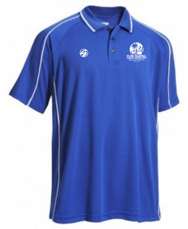 Club Coastal Unisex Sideline Polo