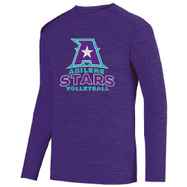 Abilene Stars Tonal Heather Long Sleeve Tee