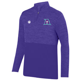 Abilene Stars Tonal Heather 1/4 Zip Pullover - Unisex and Womens