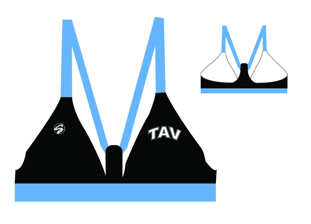 TAV Fixed Triangle Custom Bikini Top
