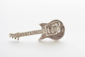 Guitar, Tie/Lapel Pin