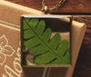 Fern Open Square Side Pendant