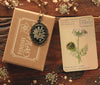 Queen Anne's Lace Black Ornate Pendant
