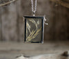 Vintage Soft Grass Catch Box Pendant