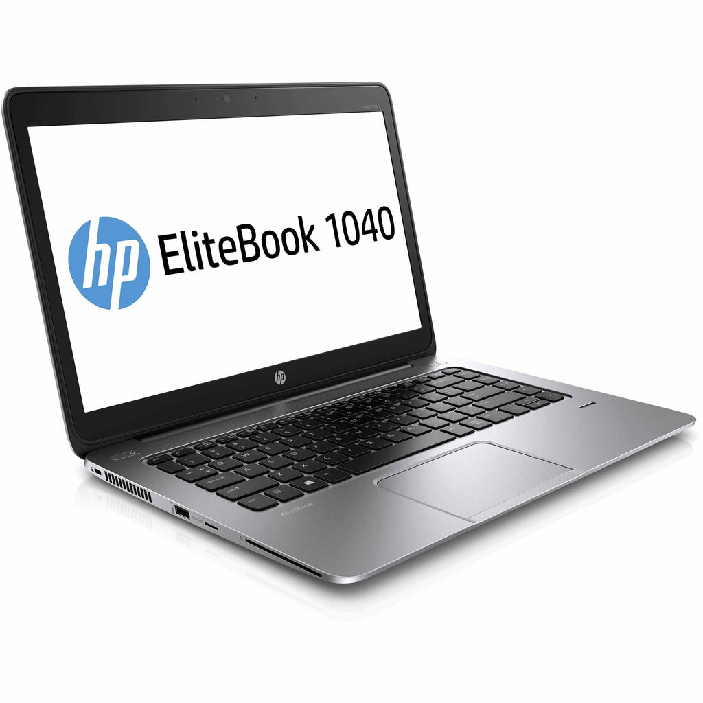 HP EliteBook Folio 1040 G2 Laptop Intel i5-5200U 2.2GHz 8GB 128GB SSD Windows 10 Pro (Refurbished)