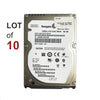 "2.5"" 160GB SATA II Hard Drive 7200RPM - LOT OF 10"
