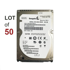 "2.5"" 160GB SATA II Hard Drive 7200RPM - LOT OF 50"
