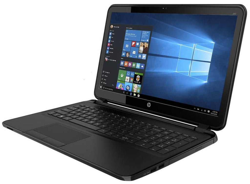 "HP 250 G4 15.6"" Laptop Core i5-5200U-2.2GHz 4GB 500GB Windows 10 Pro (Refurbished)"