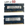 2GB Laptop RAM SODIMM DDR3 Memory PC3-10600s - 50 Pieces