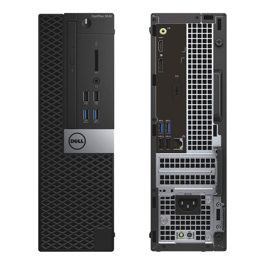 Dell 3040 SFF Intel Core i5-6400 2.2GHz 16GB 240GB SSD Win10P (Refurbished)