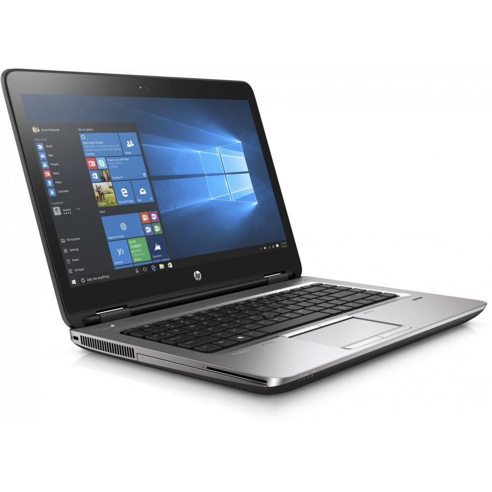"HP Probook 645 G2 14"" AMD A6-8500B 8GB 180GB SSD Windows 10 Pro (Refurbished)"