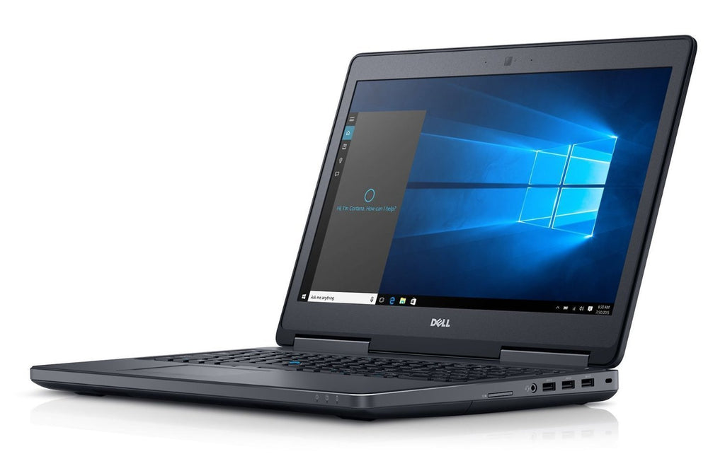 Dell 7510 15.6'' Core i5-6300HQ 16GB RAM 500GB HDD Win 10 Pro (Refurbished)
