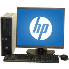 HP 7900 SFF Intel Core 2 Duo 3.0 GHz 8GB RAM 2TB DVD Windows 10 Home + 19'' LCD Combo