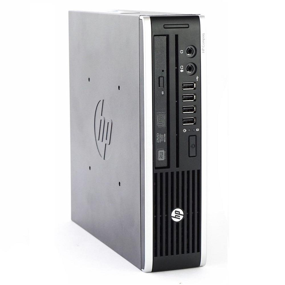 HP 8000 Elite USFF, CORE 2 DUO E8400 3.00GHz, 4GB, 120GB SSD , Windows 10 Home (Refurbished)