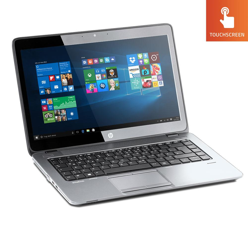 "HP Elitebook 840 G1 14"" TOUCHSCREEN i5(4300U)1.9GHz 4GB 320GB HDD Windows 10 Home (Refurbished)"
