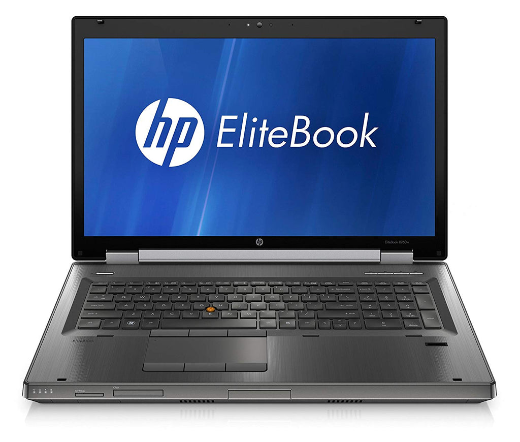 "HP Elitebook 8760W 17"" Intel i7(2720QM)2.20GHz 8GB 500GB DVD Windows 10 Pro (Refurbished)"