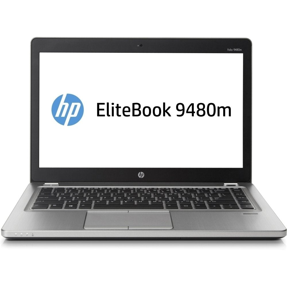 "HP Elitebook Folio 9480M 14"" Ultrabook i5-4310U-2.0GHz 4GB 180GB SSD Windows 10 Pro (Refurbished)"