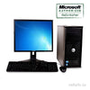 "DELL GX380 COMBO Core 2 Duo 2.8GHz 4GB 160GB HDD 19"" LCD Windows 10 Pro"
