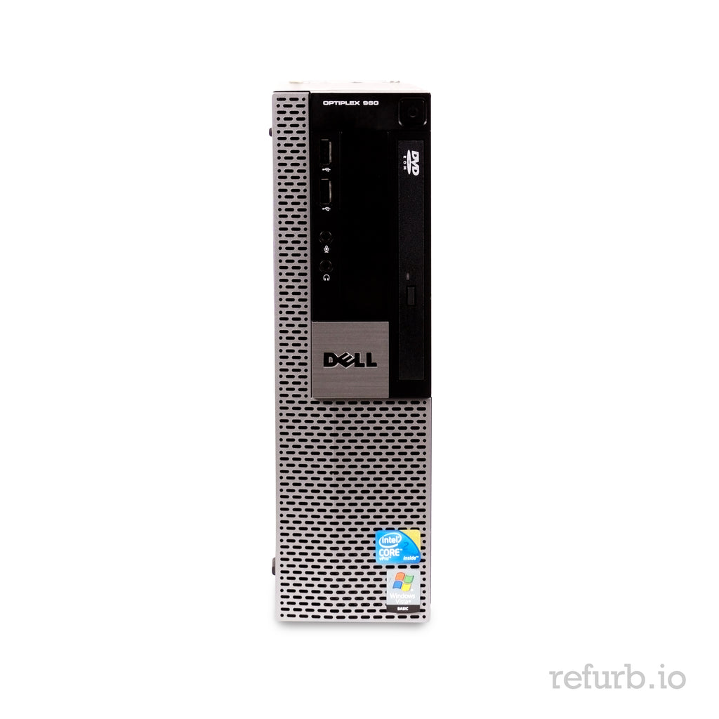 "Dell Optiplex GX 960 SFF Combo Core 2 Duo E8400 3.0Ghz 8GB Ram 500GB 19"" Monitor Windows 10 Home"