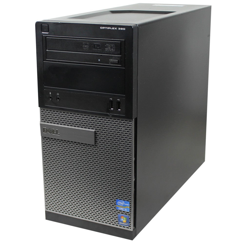 DELL GX390 Desktop i3 2100 3.1ghz 4GB Ram 250GB HDD HDMI Windows 10 Professional