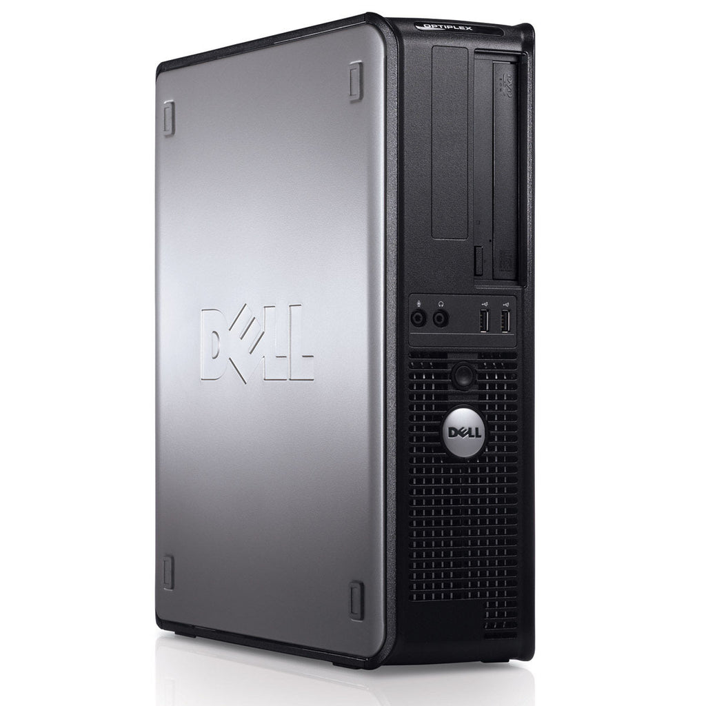 Dell GX780 DT Core 2 Duo 3.0ghz 4GB 500GB HDD Windows 10 Pro WIFI