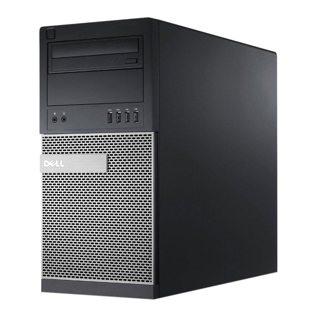 Dell Optiplex 790 MT Core i3-2100 3.10GHZ 8GB 1TB HDD  DVD RW with 22'' LCD Windows 10 Pro 64-BIT