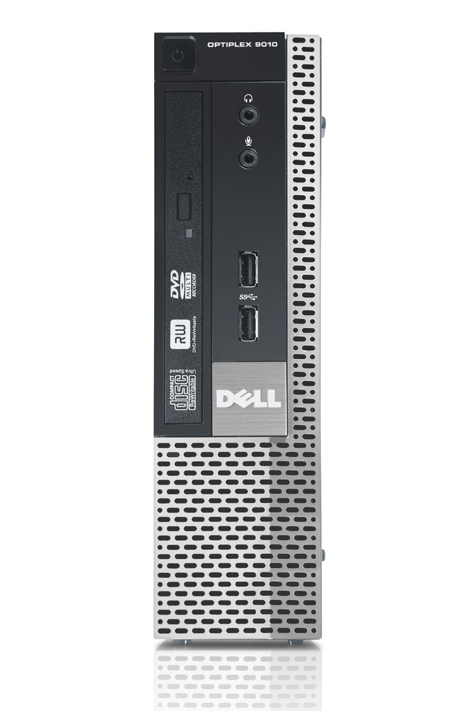 Dell Optiplex 9010 USFF Intel Core i7 3770 3.4GHz 8GB 240GB SSD DVD Win 10 Pro (Refurbished)