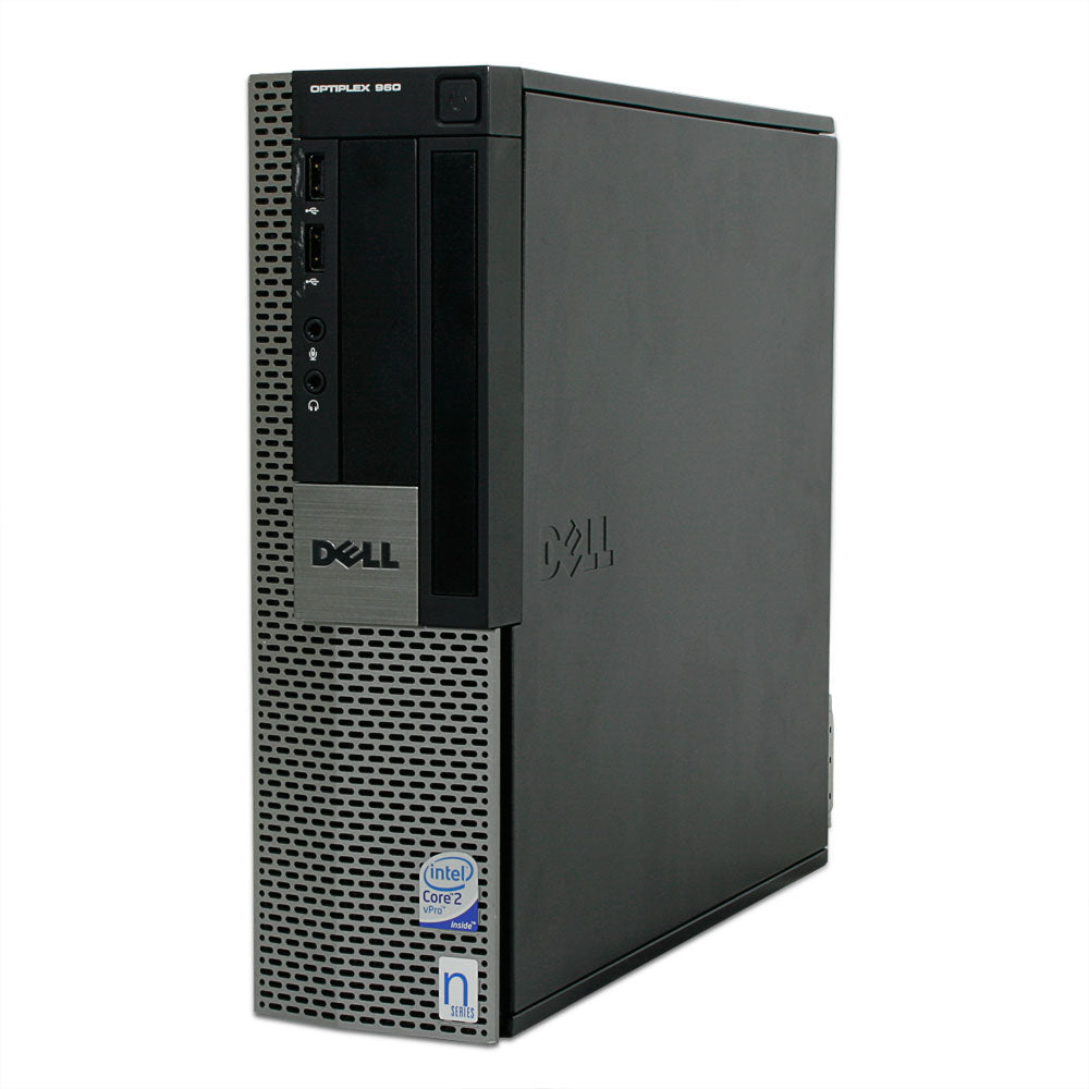 Dell Optiplex GX 960 SFF Core 2 Duo 3.0Ghz 4GB 250GB Windows 10 PRO WiFi