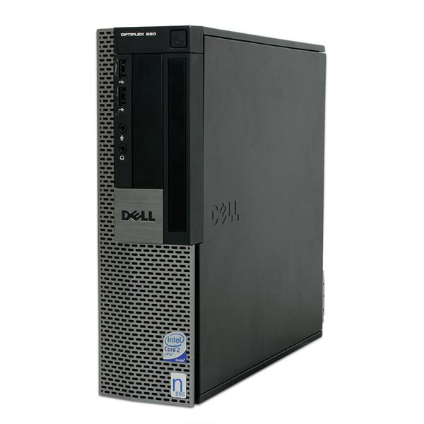 DELL GX 960 SFF C2D E7500 2.93GHz, 8GB 1TB HD DVD, Windows10 PRO