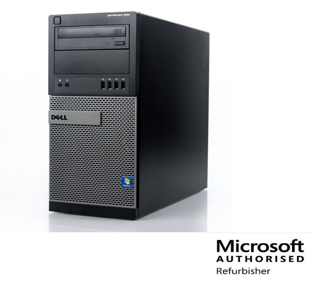 Dell OptiPlex 990 I7 2600 16GB 1TB+120SSD DVD WINDOWS 10 PRO