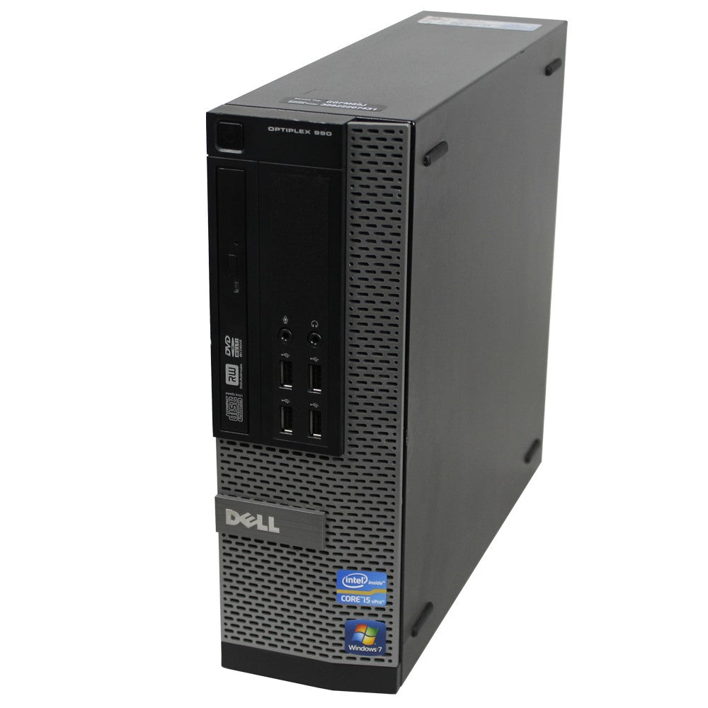 Dell OptiPlex 990 SFF I5 2400 16GB 240SSD DVD WINDOWS 10 PRO