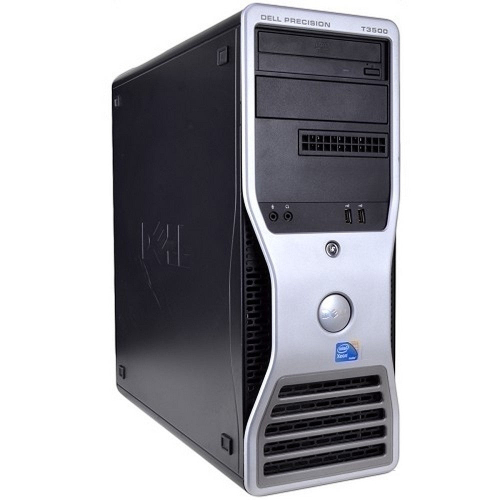 Dell Precision T3500 Workstation XEON-W3565 3.2GHz 12GB 120GB SSD+1TB DVD Windows 10 Pro