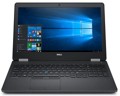 "Dell Latitude E5570 15.6"" Core i3-6100U 2.3 GHz 8GB RAM 256GB SSD Windows 10 Pro  (Refurbished)"