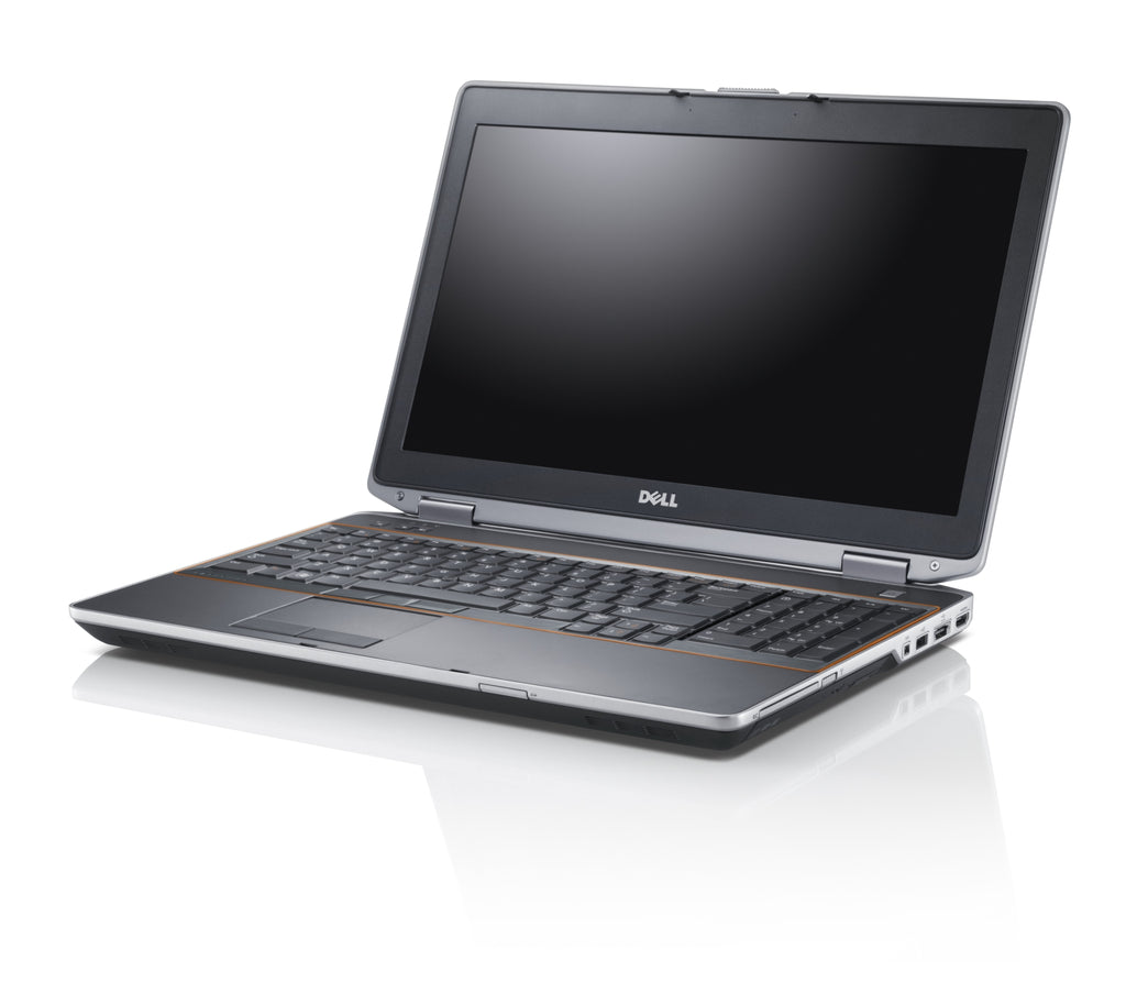 "Dell Latitude E6520 15.6"" Intel i5 2430M 2.4Ghz 8GB 500GB HDD DVD Win 10 64 Bit (Refurbished)"