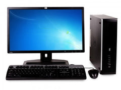 "HP Elite 8000 combo SFF C2D E8400 4GB Ram 500GB HDD, 20"" monitor Win 10 Pro"