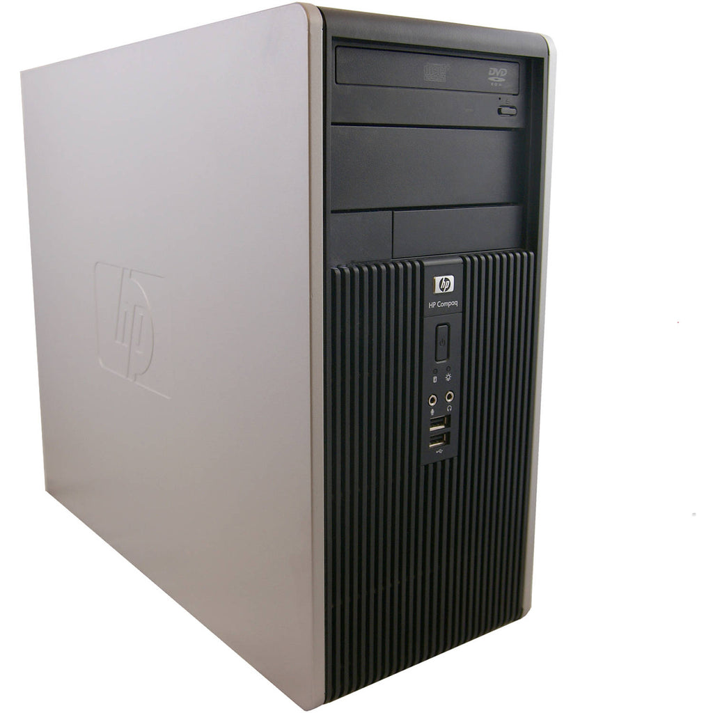 HP 5800 TWR, INTEL C2D - 2.8GHz, 4GB, 1TB, DVD, WIN10 HOME, WiFi